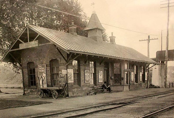 Ridgefield Train Station Down By The Station Old Train
