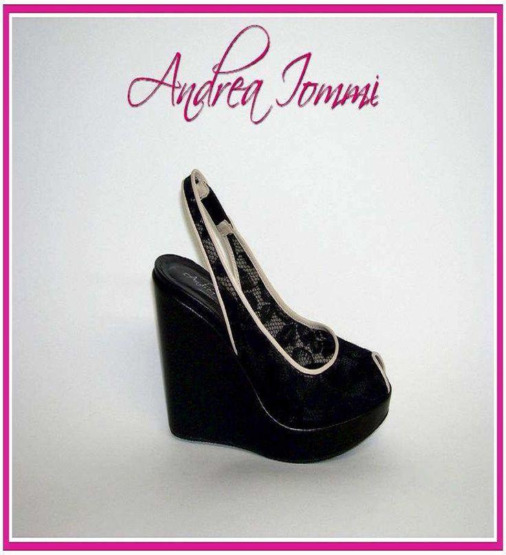 sandali da cerimonia con zeppe. Collezione scarpe da sposa e cerimonia 2015 Andrea Iommi. www.andreaiommi.it #scarpe #heels #wedge #fashion #lace #pizzo #scarpesumisura #women #zeppe #bridalshoes #shoes #matrimonio #wedding