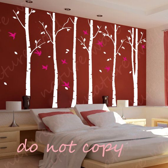 Tree Decals forest decals Kids wall decals baby by NatureWall, $86.00
