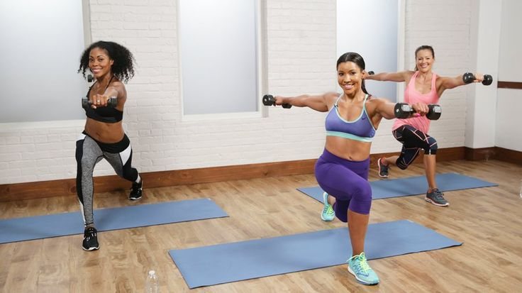 Get Fit Fast With This Cardio Sculpt Workout: Burn some fat and sculpt some muscle with Jeanette Jenkins, aka The Hollywood Trainer.