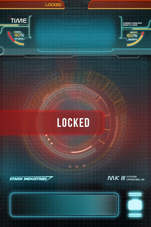 iPhone 4s JARVIS lock screen IronMan http//www.reddit
