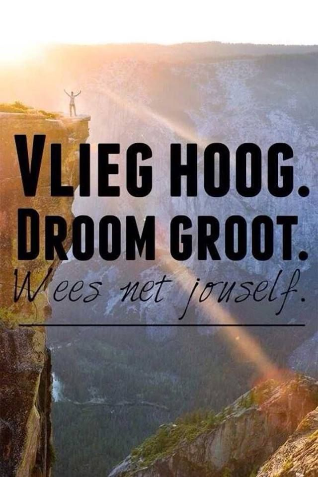 Quotes Of Inspiration wees net jouself | Wor...