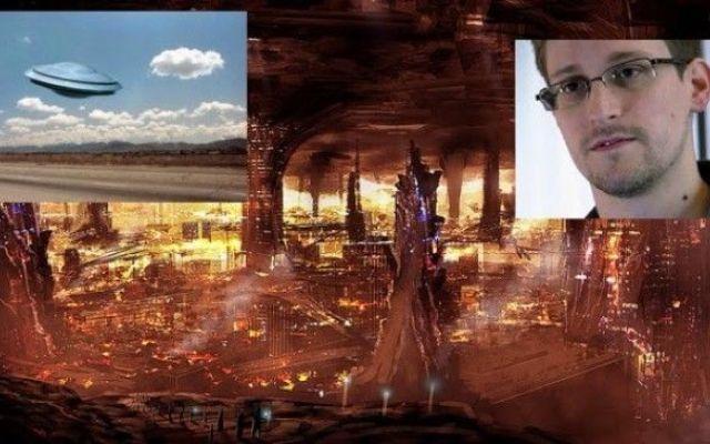 Edward snowden avanzate civilta di tipo umanoide si nascondono sotto il mantello teresttre L'ex agente della National Security Agency (NSA) Edward Snowden, ha riferito nel 2013 di essere venuto a conoscenza di alcuni fatti riguardanti la questione UFO. Ora, se si tratta di un'attività di d