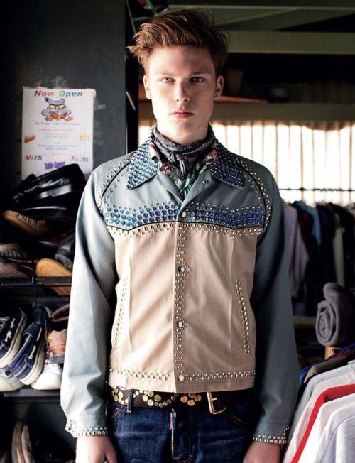 S/S 2012 Prada collection for men.
