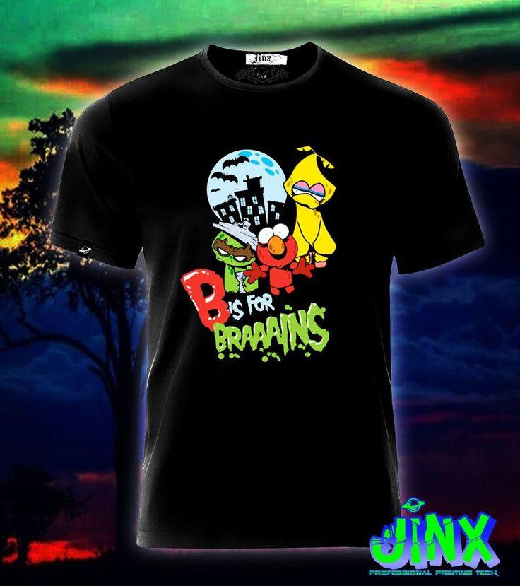 $179.00 Playera o Camiseta Zombies Plaza Sesamo - Jinx