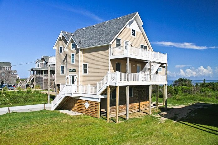 52 best cape hatteras cottages images on pinterest cape for Hatteras cabins rentals