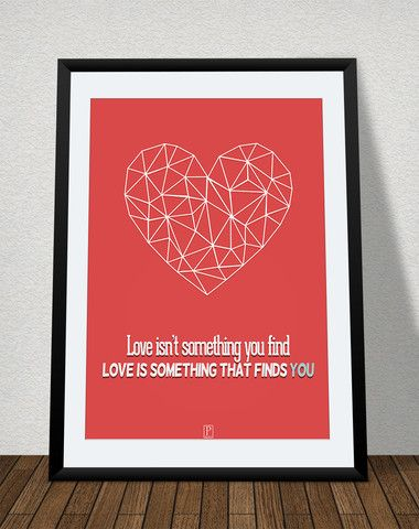 plakat: love finds you