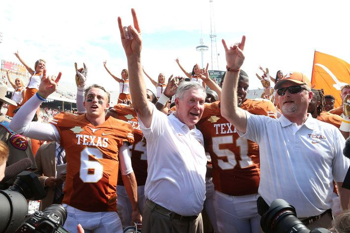 Mack Brown strengthened the bonds of Texas football - Burnt Orange Nation