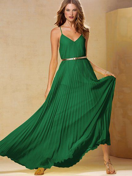 Knife-pleat Maxi Dress: Maxi Dresses, Style, Knifes Pleated Maxi, Victoria Secret Dresses, Bridesmaid Dresses, Colors, Maxis, Knifepleat Maxi, Knives