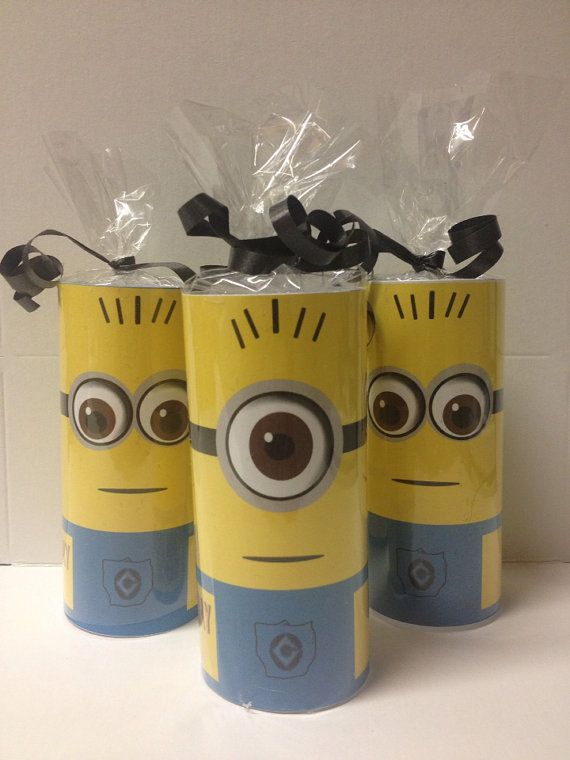 Despicable Me Minion Candy rolls