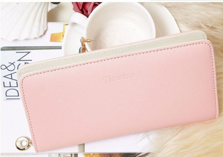 Fashionable wallet in PU leather