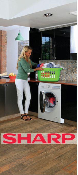 Высокотехнологичные стиральные машины SHARP. Новости компании «Интернет магазин Videoshops»