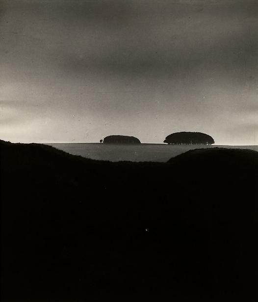 Bill Brandt.  Barbary Castle, Marlborough Downs, Wiltshire, 1948