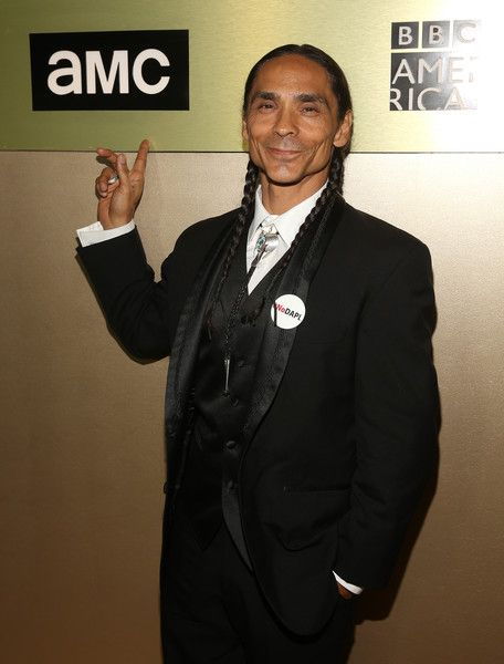 Zahn McClarnon Photos Photos - Actor Zahn McClarnon attends AMC Networks Emmy Party at BOA Steakhouse on September 18, 2016 in West Hollywood, California. - AMC Networks Emmy Party