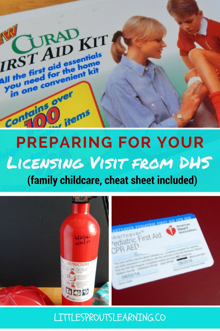 In Oklahoma, DHS does quarterly, unannounced visits to check for licensing requirement compliance for family childcare homes.