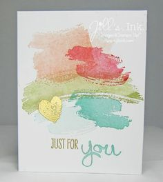 work of art stamp set - Google Search - Neat background idea, extend for scrapbook page or for a PL card.