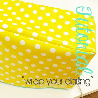 """Nähmaschinenhaube/ cover für die Nähmaschine nähen I leni pepunkt: Adventskalender - Türchen #18 - Tutorial """"wrap your darling"""""""