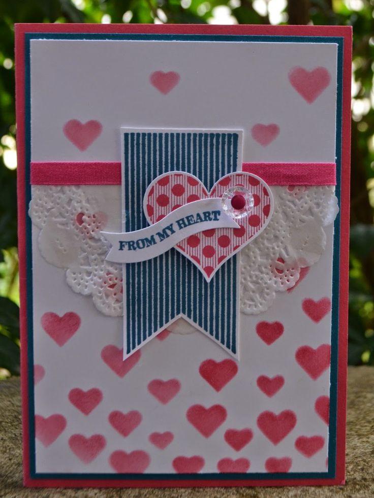 Groovy Love From My Heart Card
