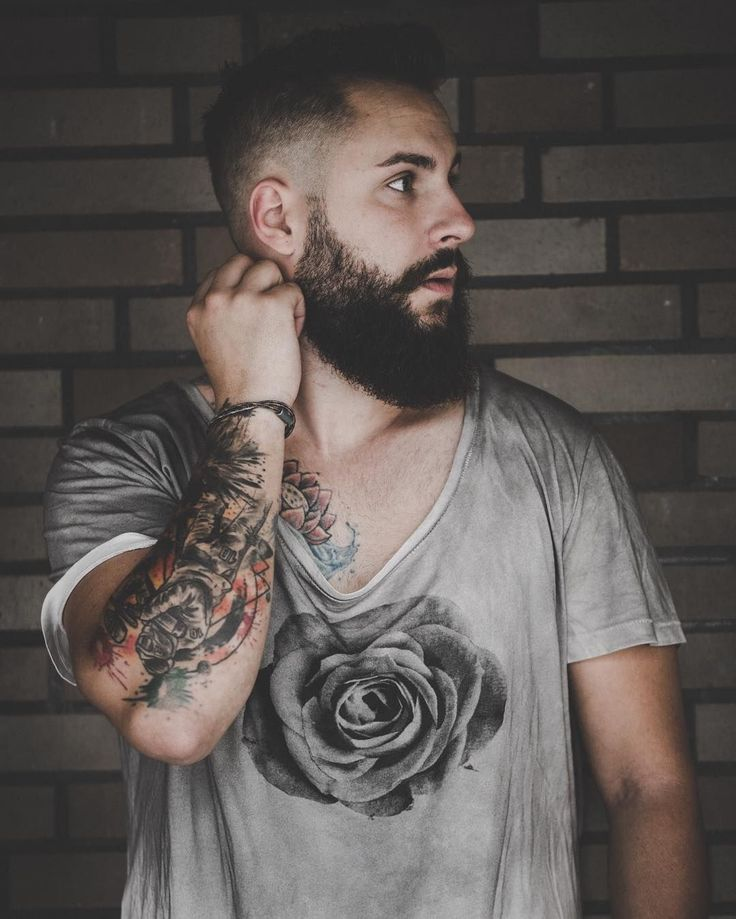 Razor Edge Beard | All beard shape | Pinterest