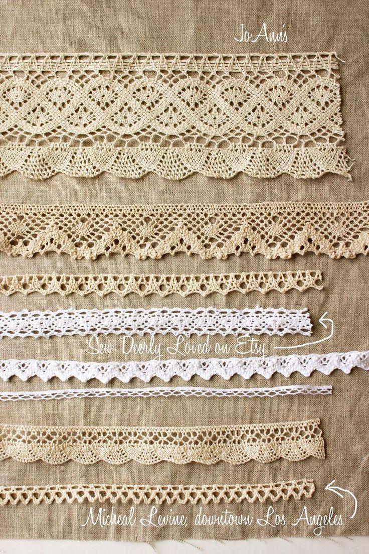 crochet trim, nanacompany