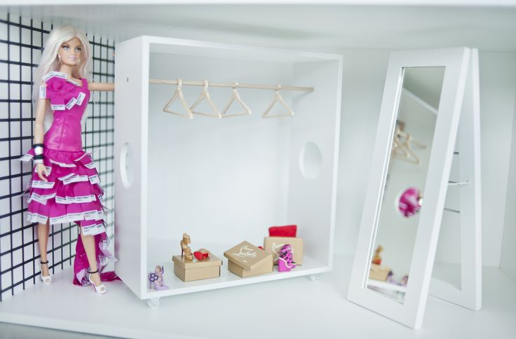 every girl needs a special wardrobe for her Loboutin's shoes ;)