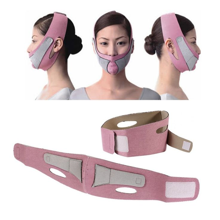 Health Care Thin Face Mask Slimming Facial Thin Masseter Double Chin Skin Care Thin Face Bandage Belt Women Face Care #Affiliate