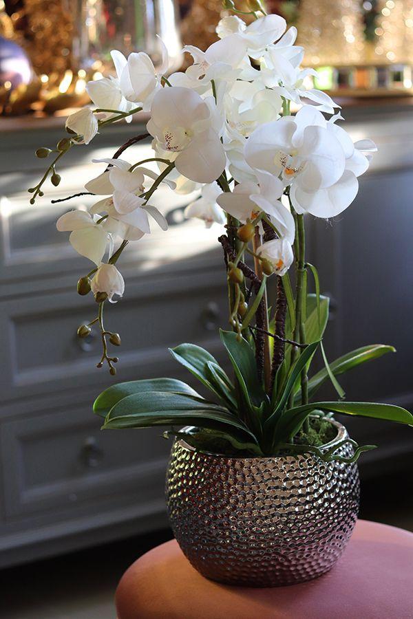 Sztuczne Kwiaty Doniczkowe Tendom Pl Orchids Flowers Glass Vase