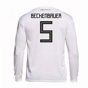 Adidas 2018-19 Germany Home Langarmshirt (Beckenbauer 5)
