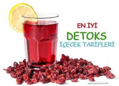 detoks içecek tarifleri