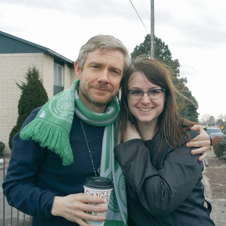 """free-martinis: """" Lovely Kandice (@bookgirl_Kandi) met Martin on set of """"Whiskey Tango Foxtrot"""" a long time ago. (X) And now we will have the movie soon! """""""