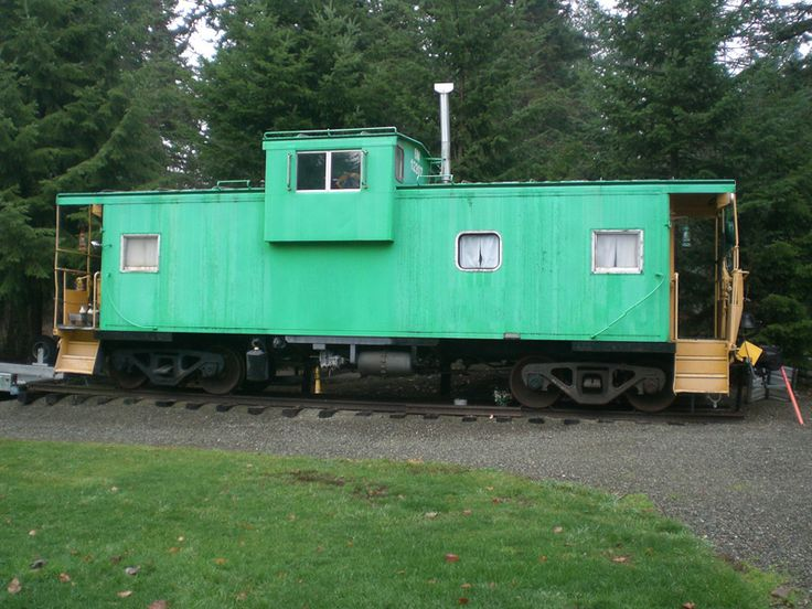 In Washington State Sterling Rail Caboose For Sale