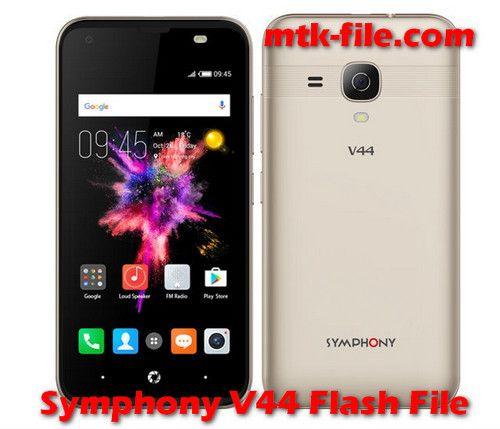 Symphony V44 Flash File Firmware Free (V44_HW1_V8) Download visit