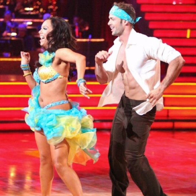 If there was any justice in this world, I'd look like Cheryl Burke AND get to dance with William Levi.....