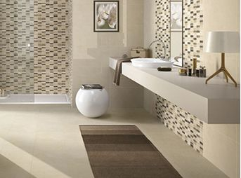 Ceramiche bagno pavimenti e rivestimenti piastrelleof - Piastrelle decorate per bagno ...