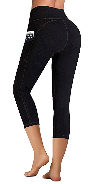 4692c0b828 Amazon.com: IUGA High Waist Yoga Pants Inner/Out Pocket Design, Tummy  Control, Workout Running 4 Way Stretch Yoga Leggings: Clothing