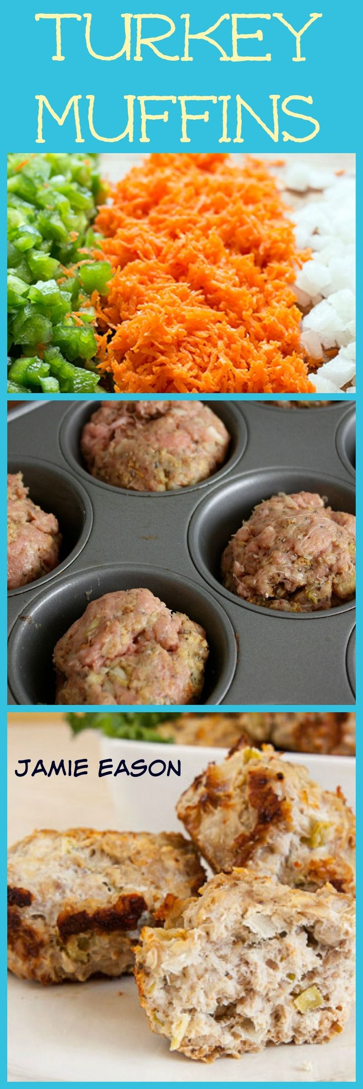 Looking for an easy weekend prep?? These Turkey Muffins are perfect for busy moms like me.  Prep a Batch and use them to Grab and Go.  #21dayfix
