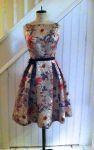 50er Jahre vintage Kleid (englisch) kostenloses Schnittmuster (33 Seiten)