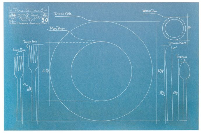 This would have been a great gift for my professors. Blueprint Paper
