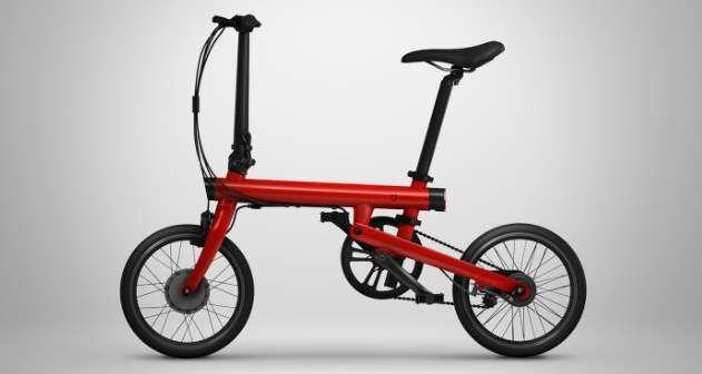 Lee Mi Qicycle, la nueva bicicleta eléctrica y plegable de Xiaomi