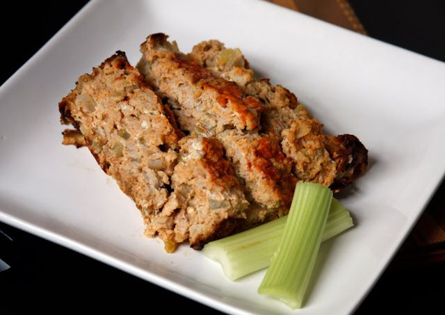 Erin's Food Files » Buffalo Chicken Meatloaf