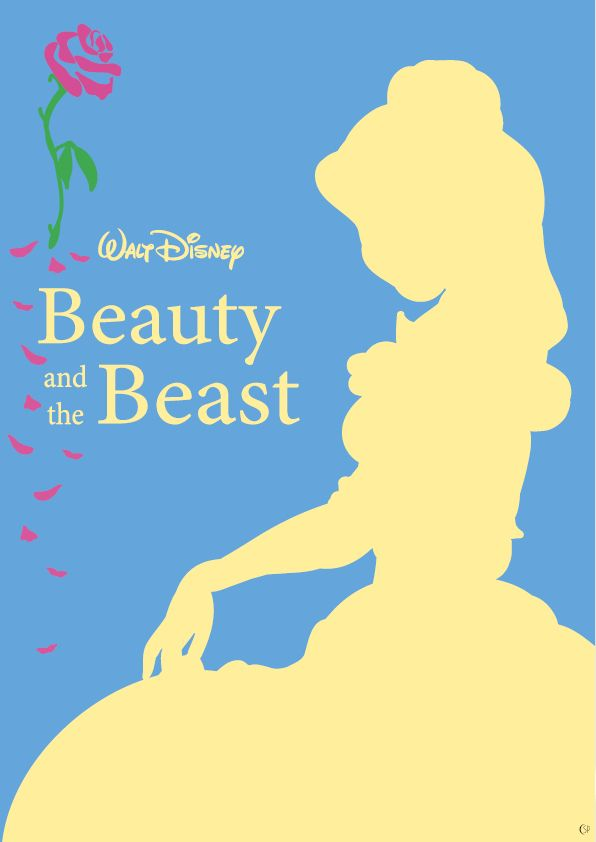 "Disney Poster ""Beauty and the Beast""  #disney #poster #disneyposter #beautyandthebeast #belle #simlyposy"