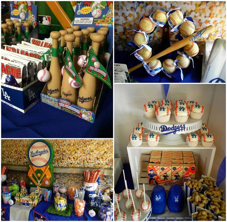 Baseball Party Centerpiece Ideas