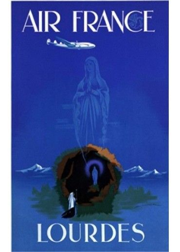 Affiche Musée Air France® - Lourdes