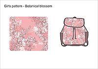 Ткань с принтом Botanical