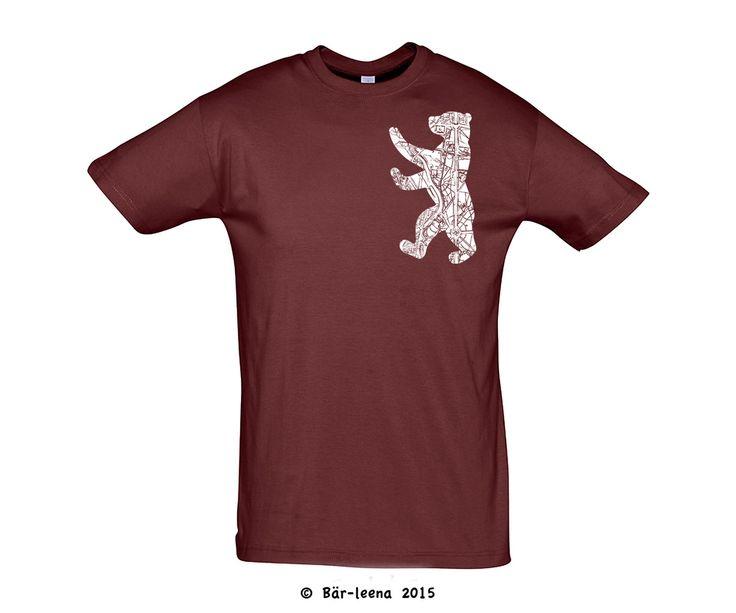 Berliner Bär Männer T-Shirts - Bär-leena Rote T-Shirt