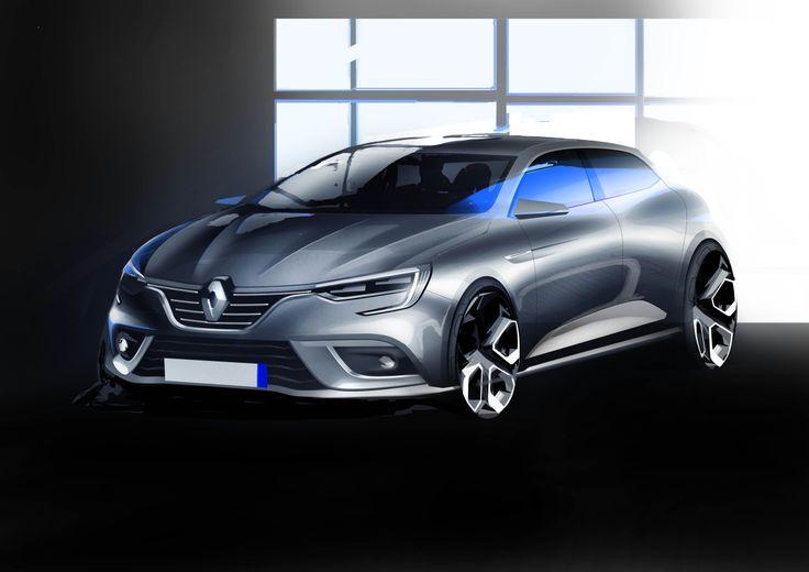 Renault Megane 2015 sketch 1