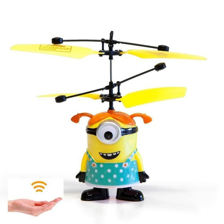 2017 Hot Sale Cartoon Flying Sensor RC Drone Helicopter Toy Kids Children Gift