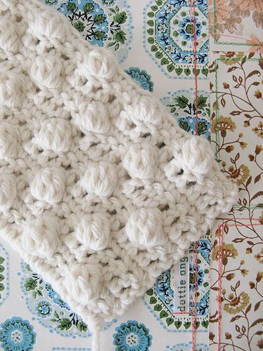 How To Bobble Stitch