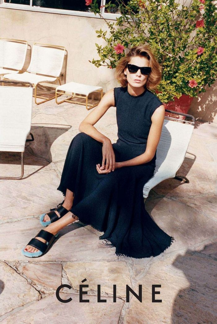 Hanalei - long black simple dress.