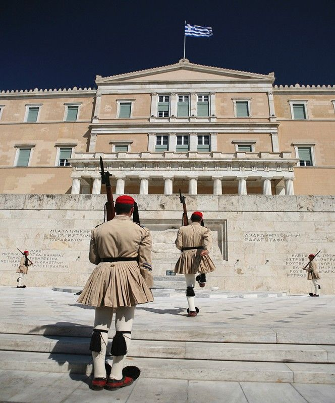 Athens Photos::Changing of the Guards at Syntagma Square